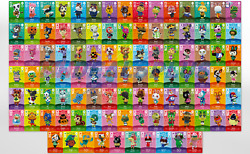 New Animal Crossing Amiibo Cards Authentic - Series 2 101-200 [us] You Pick