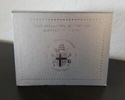 Vatican Brilliant Uncirculated 8 Coins Annual Coin Set 2003 In Blister