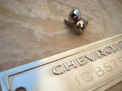1953 - 1963 Chevrolet Id Tag Data Plate With Your Number Polished Surface