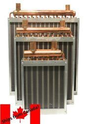 Water To Air Heat Exchanger, Wood Boilers, Hvac Supplies, Free Shipping
