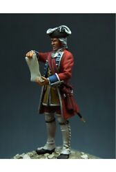 English Officer At Battle Of Culloden Tin Painted Toy Soldier Pre-sale | Art