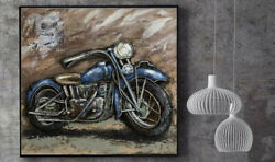 High Quality 3d Art Decorative Motorcycle Wall Art Home Decor Decoration Harley
