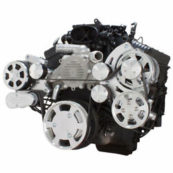 Serpentine System For Chevy Lt1 Generation Ii - Ac, Power Steering And Alternator