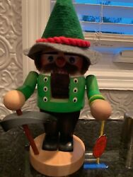 Steinbach Brafent Nut Cracker Handmade In Germany With Hang Tag Digger