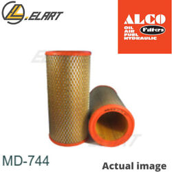 Air Filter For Renault 19 Ii,b/c53,f8q 744,19 Ii Chamade,l53 Alco Filter Md-744