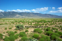 Side By Side Building Lots--near Albuquerque, New Mexico--cheap--91/month Terms