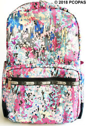 LeSportsac Essential Large Backpack Radient Travel School Commuter