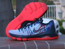 Nike Kd 8 Usa Independence Day Menandrsquos Athletic Sneakers 749375-446