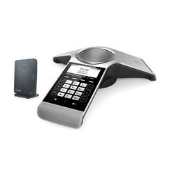 Yealink Cp930 Wireless Dect Conference Phone W Battery W60b 24hr Talk Time