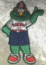 Boston Red Sox Wally the Green Monster Iron On Embroidered Patch FREE SHIP