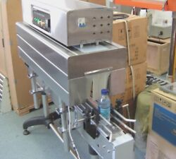 Bss-1538c Thermal Shrink Tunnel For Top Sleeve Tamper Proof Label Film 220 Volt