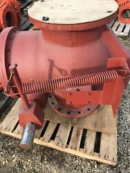 """APCO 16"""" CUSHIONED SWING CHECK VALVE FLANGED OUTSIDE LEVER & SPRING"""