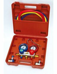 & Mekanik Common Cool Gas Meter R134a (MT1048) 1550mm Hoses with Case  51:4
