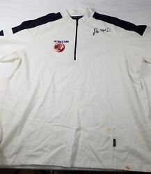 John Mccain Signed Autographed Polo Shirt And Button 2008 Campaign