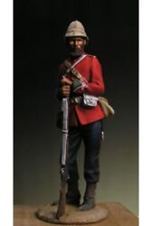 English Sergeant Of 24th Regiment Of Foot Tin Painted Toy Soldier Pre-sale |art