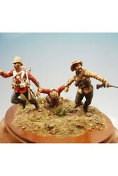 English Soldiers At Anglo-zulu War Tin Painted Toy Soldier Pre-sale | Art
