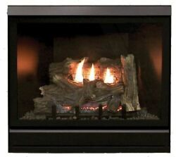 Clean Face Deluxe 36 Inch Dv Fireplace Dvcd36fp70n - Natural Gas
