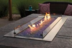 Empire Ol60tp10 Outdoor Linear 60 Stainless Steel Fire Pit - Ng