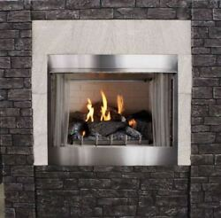 Empire Outdoor Premium 42 Traditional Mv Fireplace With Log Set Lp