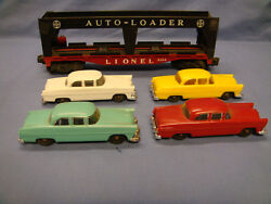 Lionel 6414 Car Hauler O Scale Excellent Box Shows Signs Of Handling And Storage