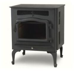 Country Flame Little Rascal Wood Pellet Stove With Black Door And Legs