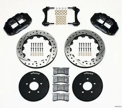 Wilwood Narrow Superlite 6r Front Hat Kit 12.88in Drilled For 1994-2004 Mustang