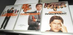 Arrested Development Season 1, 2 And 3 Two New Sealed Dvd's Free Shipping