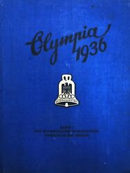 """""""OLYMPIA 1936 BAND I"""" Germany Olympic Winter Games - PASTED IN PHOTOS"""