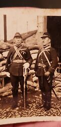 Ww2 Japanese Original Photo ● High Rank Officers ● Collectible Antique Picture