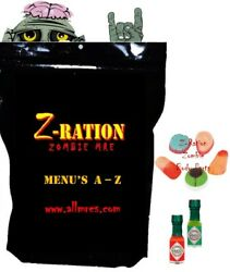 New Mre Z-ration Custom Mreand039s Main Entree And03921 - And03923 1st Insp.date Menus A - Z