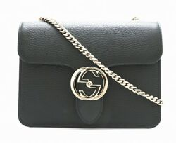 Bag GUCCI Soho Leather chain shoulder fittings outlet 510304 495151 k (N22116