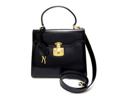 GUCCI bag handbag shoulder 2WAY fitting leather