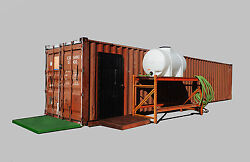 40 Foot Urban Farm Hydroponic Grow Container Green Room Vegetables Herbs 420 NEW