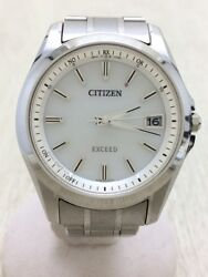CITIZEN solar EXCEED radio analog CB300051A (K27739