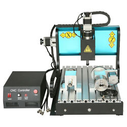 Nzl 110v 600w 4 Axis Cnc 3040 Router Engraving Milling Machine Parallel Port