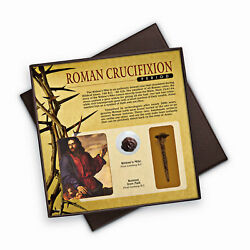 New Roman Crucifixion Period Widowand039s Mite And Nail Collection 13456