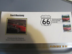 Ford Mustang Usps Diamond Jubilee 66 1926-2001 75th Anniversary Station Texas