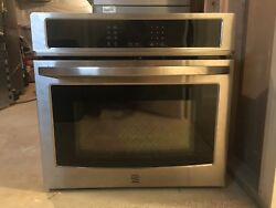 Kenmore 49423 30andrdquo Electric Self-clean Single Wall Oven- Stainless Steel 30 Off
