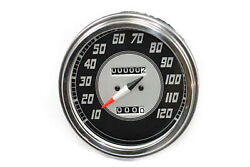 Speedometer With 224060 Ratio And Late Needle Fits Harley-davidson