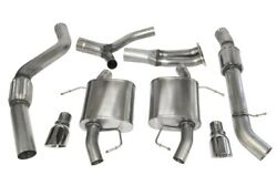 Corsa For 07-12 Bmw 335i Touring E91 Polished Sport Cat-back Exhaust - Cor14861