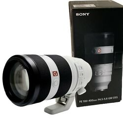 New Sony Fe 100-400mm F4.5-5.6 Gm Oss Sel100400gm For E Mount Full-frame
