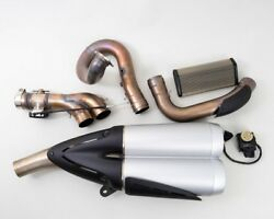 Ducati ZDM-A76 Diavel Silencer Motorcycle Exhaust System 2014 Part# 573.2.108.1A