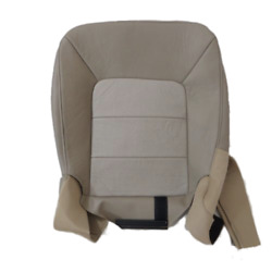 03- 06 Ford Expedition E.baueraspirated Driver Bottom Pe.leather Seat Cover Tan