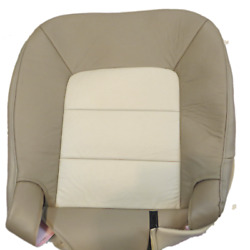 03- 06 Ford Expedition E.bauer Xls Sport Passenger Bottom Leather Seat Covertan