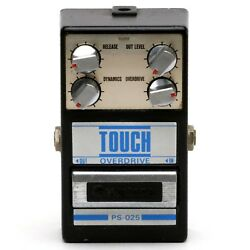 2 Pots & Foot Switch BAD - Guyatone PS-025 TOUCH OVERDRIVE Guitar Effect Pedal