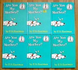 Lot 6 ARE YOU MY MOTHER? by PD Eastman Beginner Books HB guided reading