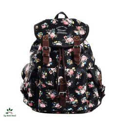 Bagpack For Girls Cute Backpack Teens School Canvas Teen Dgy Shoulder Bag New