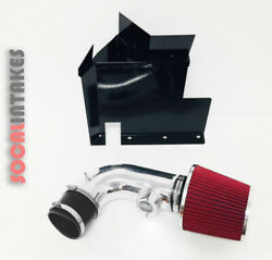 Black Red Heat Shield Cold Air Intake Kit For 2007-2011 Bmw 128i 328i 3.0l 6cyl