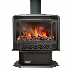 Napoleon Gas Fireplace GDS50 Stove LP OR NG WBLACK DOOR - FREE REMOTE CONTROL