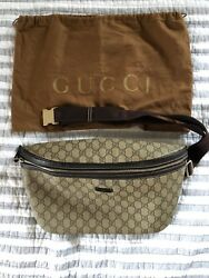 GUCCI Authentic Supreme Crossbody Waist Belt Bag Backpack Messenger Retail $1995